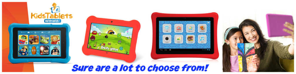 What's a kids' tablet banner