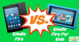 Kindle Fire Vs Kindle Fire For Kids